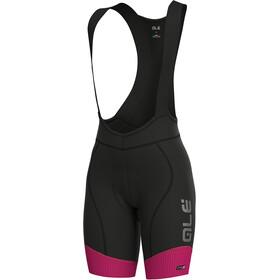 Alé Cycling PRS Master Bib Shorts Dame prune-flou pink